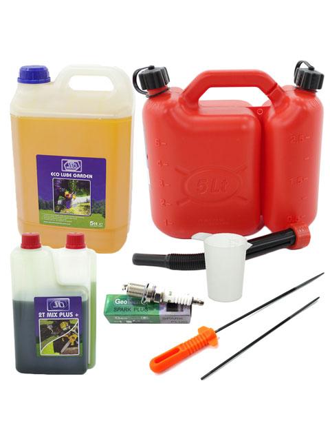 kit per utilizzo e manutenzione delle motoseghe mcculloch