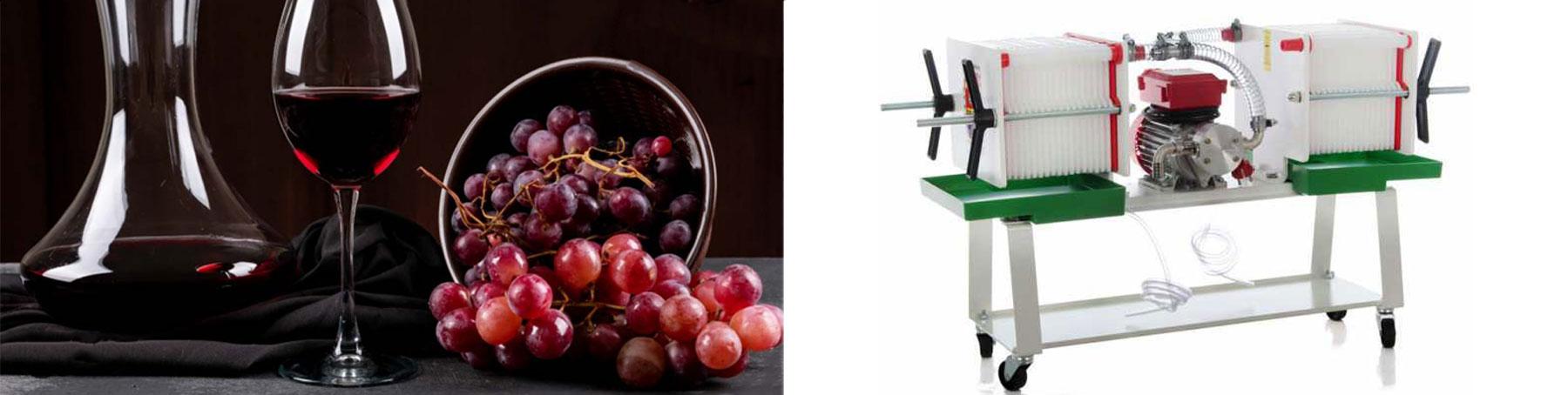 Filtri per vino e olio