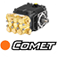 Idropulitrice equipaggiata con pompa Comet