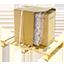 Spedizione supersicura doppia scatola strato cuscini intermedio bancale in legno