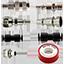IN OMAGGIO: Kit raccordi compressore 8 pezzi